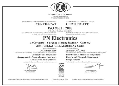 PN Electronics - Société